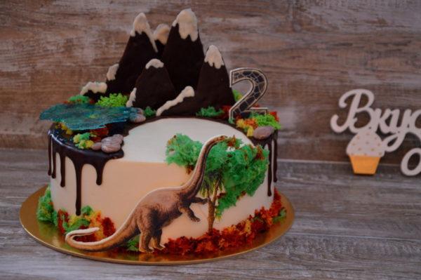 дино торт