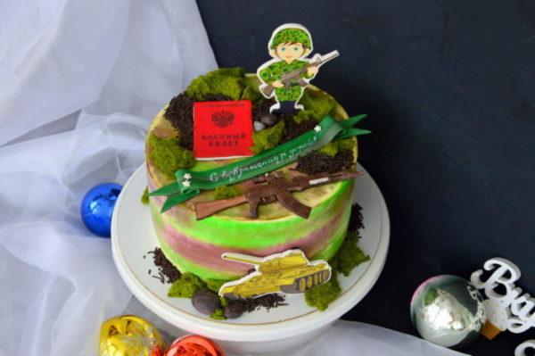 солдат торт